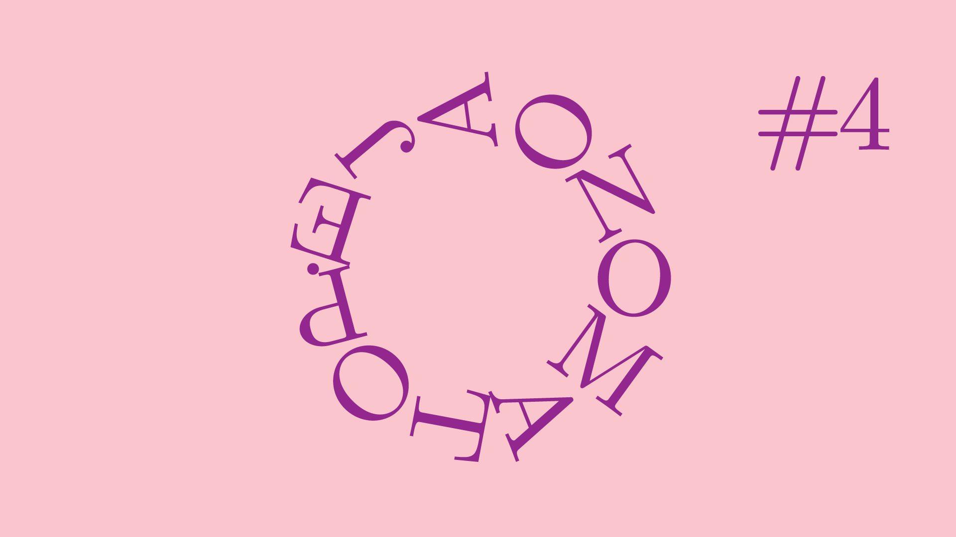"""""""Onomatopėja"""" tęsia moters balso temą. Laima Kreivytė pristato amerikiečių poetes Anne Sexton (1928-1974)  ir Adrienne Rich (1929-2012) – išpažintinės lyrikos ir politinio kalbėjimo naujus horizontus atvėrusias asmenybes. Pačių poečių balsai ir skaitoma poezija, esė bei jų vertimai įkvepia pasitikėjimą kuriančių moterų galia."""